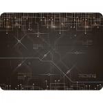 Коврик для комп. мыши Dialog PM-H17 черный с рисунком