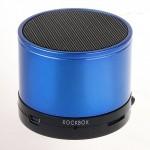 Портативная акустика RockBox Round (frosted blue)