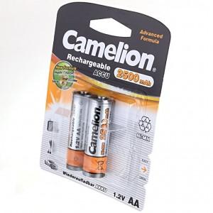 Аккумулятор Camelion R06 2500 mAh BL2