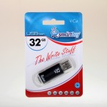 Флэшкарта USB 32Gb SmartBuy V-Cut (black)