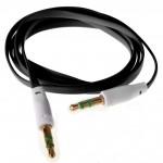 Аудио-удлинитель (папа-папа) -AU102 3,5-3.5 (1 метр) (black)
