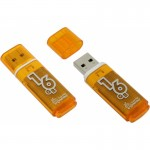 Флэшкарта USB 16Gb SmartBuy Glossy series (orange)