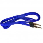 Аудио-удлинитель (папа-папа) -AU101 3,5-3.5 (1 метр) (blue)