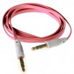 Аудио-удлинитель (папа-папа) -AU102 3,5-3.5 (1 метр) (pink)
