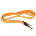 Аудио-удлинитель (папа-папа) -AU101 3,5-3.5 (1 метр) (orange)