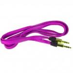 Аудио-удлинитель (папа-папа) -AU101 3,5-3.5 (1 метр) (purple)