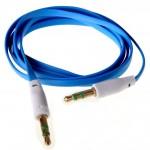 Аудио-удлинитель (папа-папа) -AU102 3,5-3.5 (1 метр) (blue)