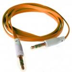 Аудио-удлинитель (папа-папа) -AU102 3,5-3.5 (1 метр) (orange)