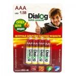Батарея Dialog R3P Super Alkaline (4-BL)