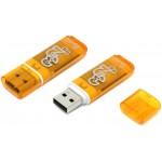 Флэшкарта USB 32Gb SmartBuy Glossy series (orange)