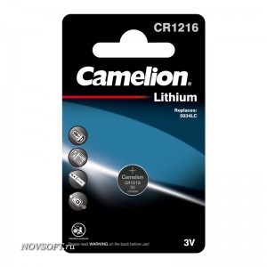 Батарея Camelion CR-1216 BL1