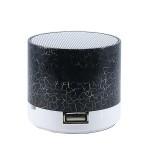 Портативная акустика - S10 LED mini (black) USB/microSD