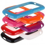 Бампер пластик Activ SANTA для Samsung i8190 (orange) S3 mini